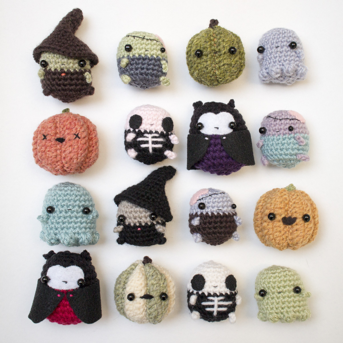 Halloween amigurumi pattern bundle