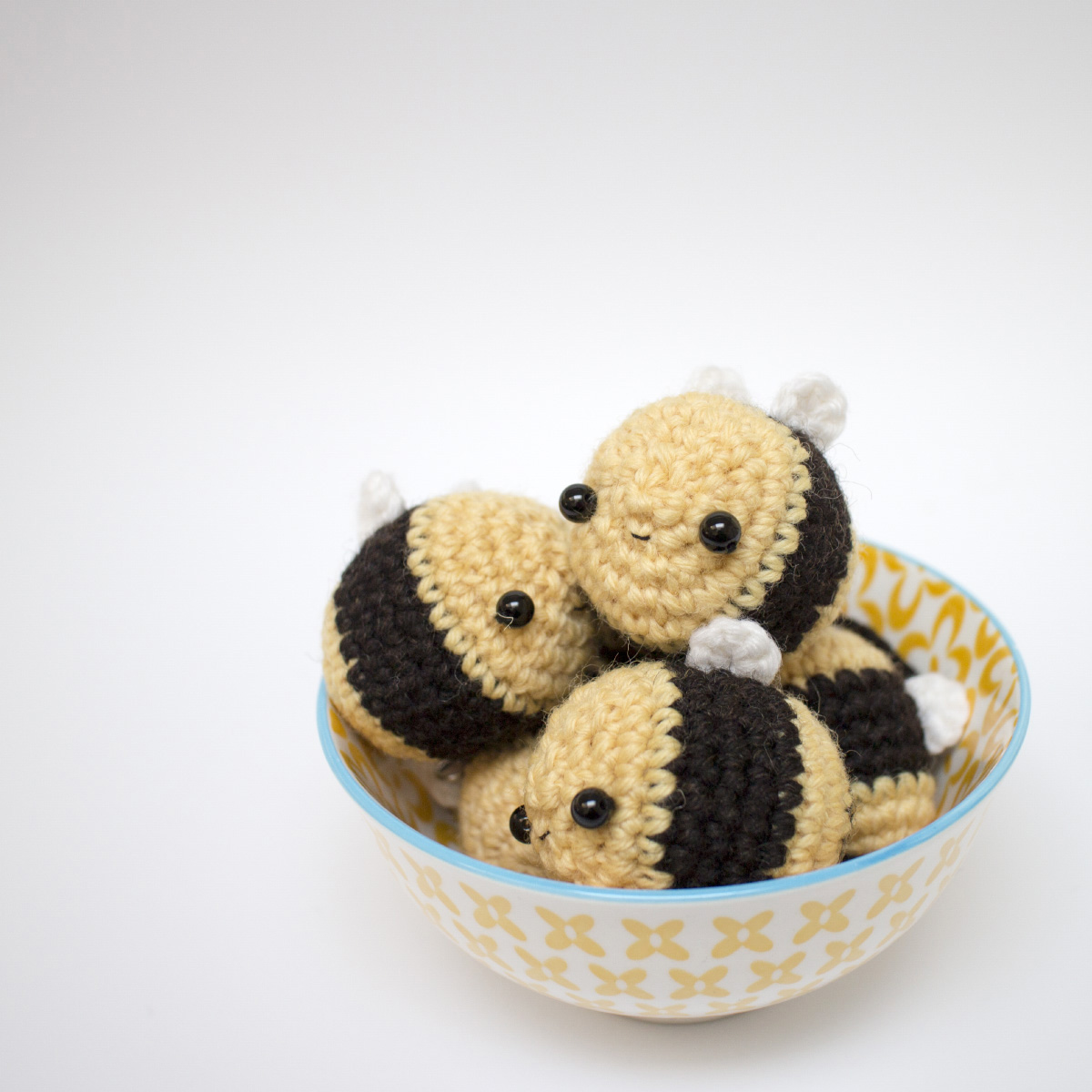 Crochet Amigurumi Bee Keychain Gift Idea Sold individually | Hello ... | 1200x1200