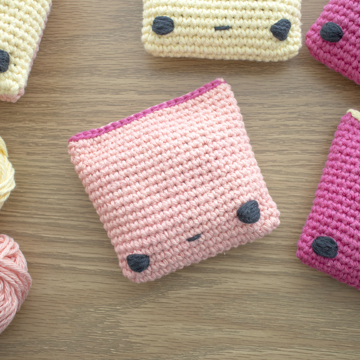 Mini Bean Bags Free Crochet Pattern